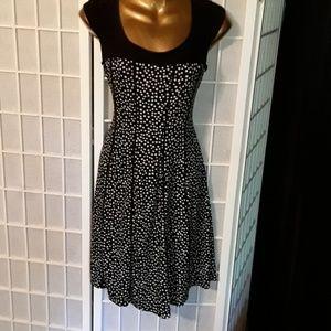 Karin Stevens Black & White Dress 8